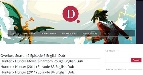 Anime Streaming English