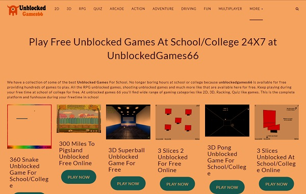 free online games unblocked
